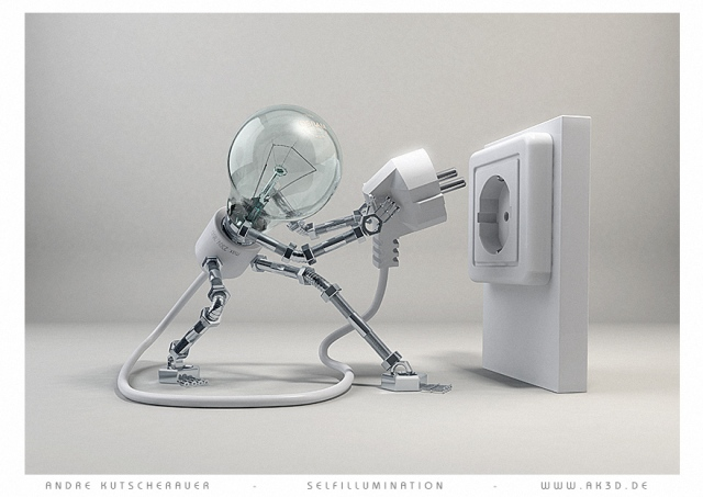 Self Illumination by Andre Kutscherauer